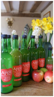 Apples from Suffolk Bottle Apple Juice Moat Farm