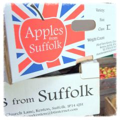 Apples from Suffolk Apple Boxes