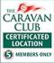 Caravan Club Certified Location